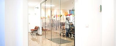 Eingangsbereich Schulungsraum - Detlef Kobusch, Gesundheitszentrum am Nordberg in Bergkamen